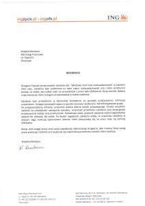 Referencje Wiola Rembacz - ING