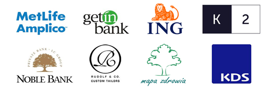 Kilka firm, które skorzystało ze szkolenia 5 Sił Produktywności